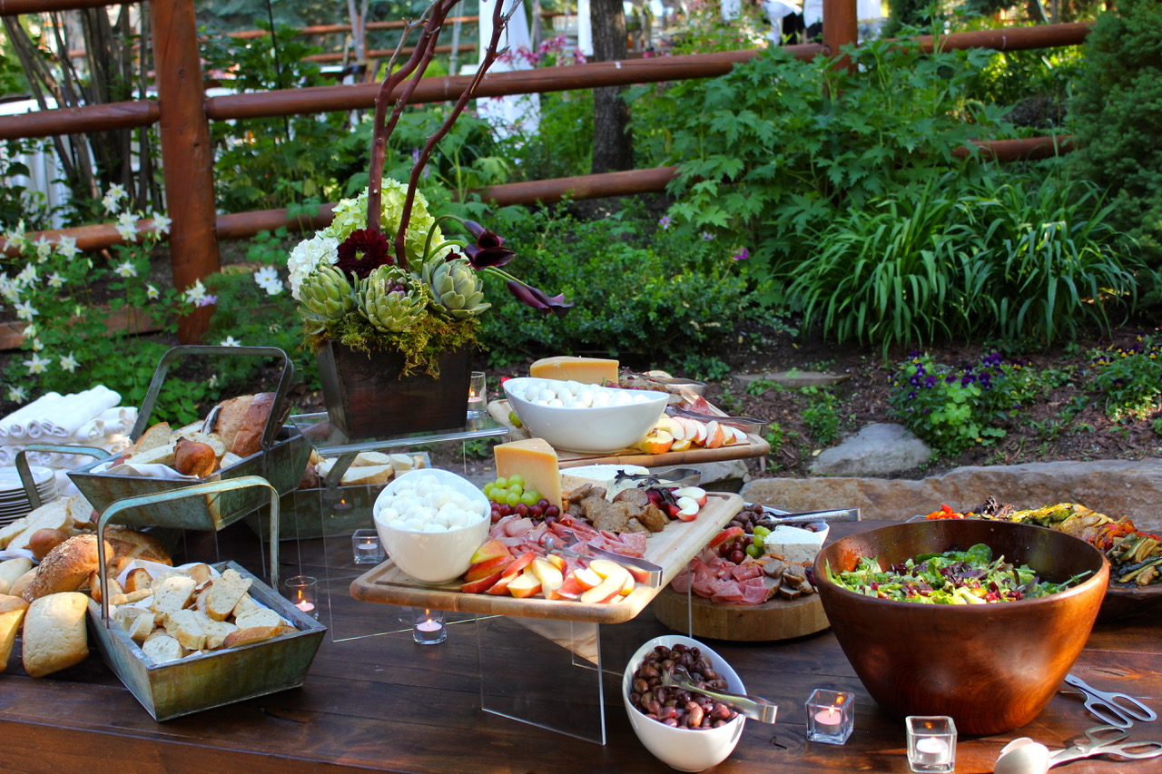 catering spread