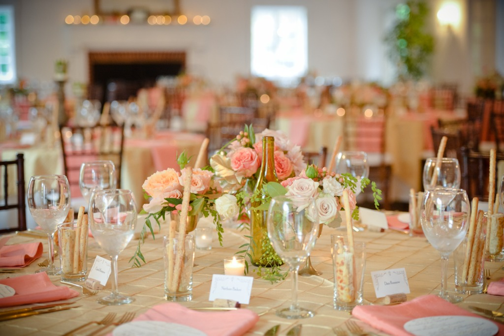 wedding caterer table setting