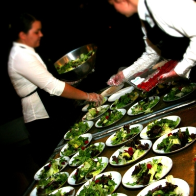 event catering salads