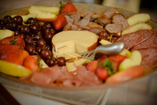 meat and cheese platter
