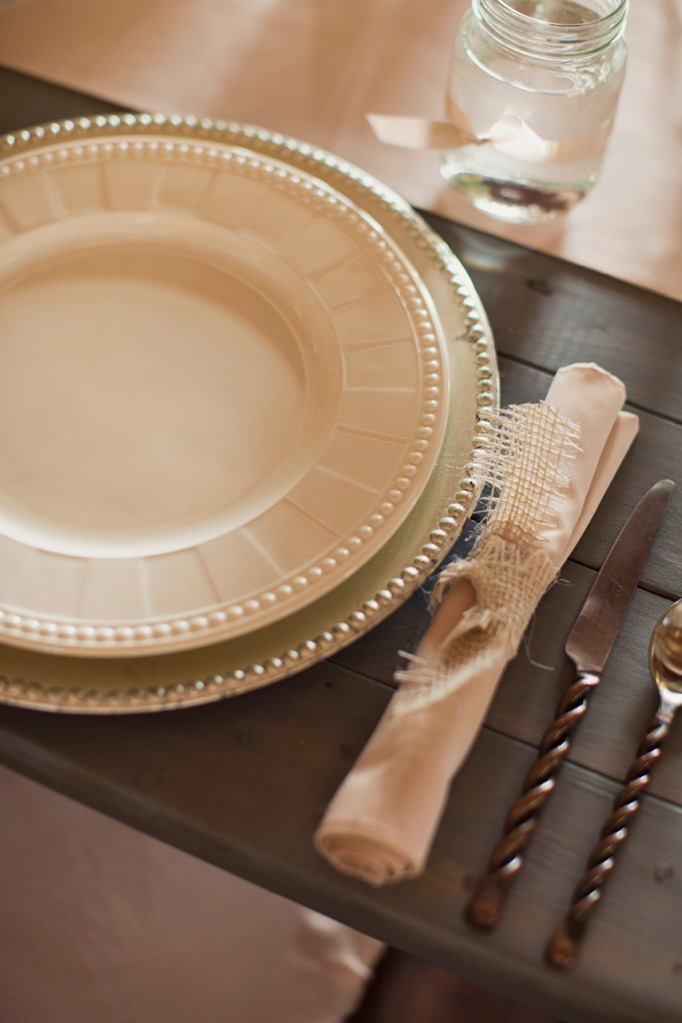 catering place setting